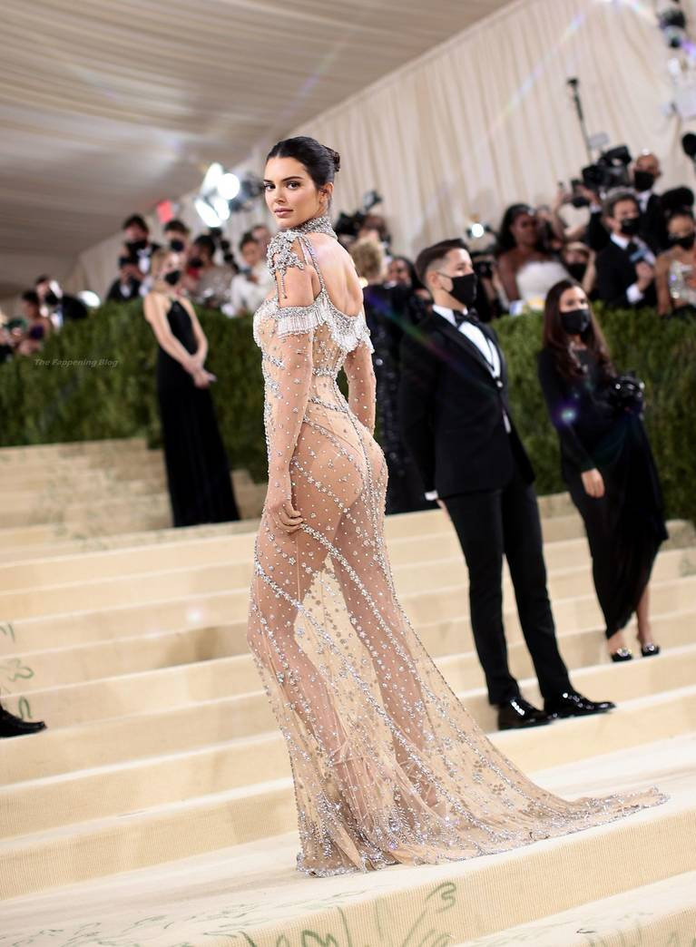 Kendall Jenner Naked Dress 27