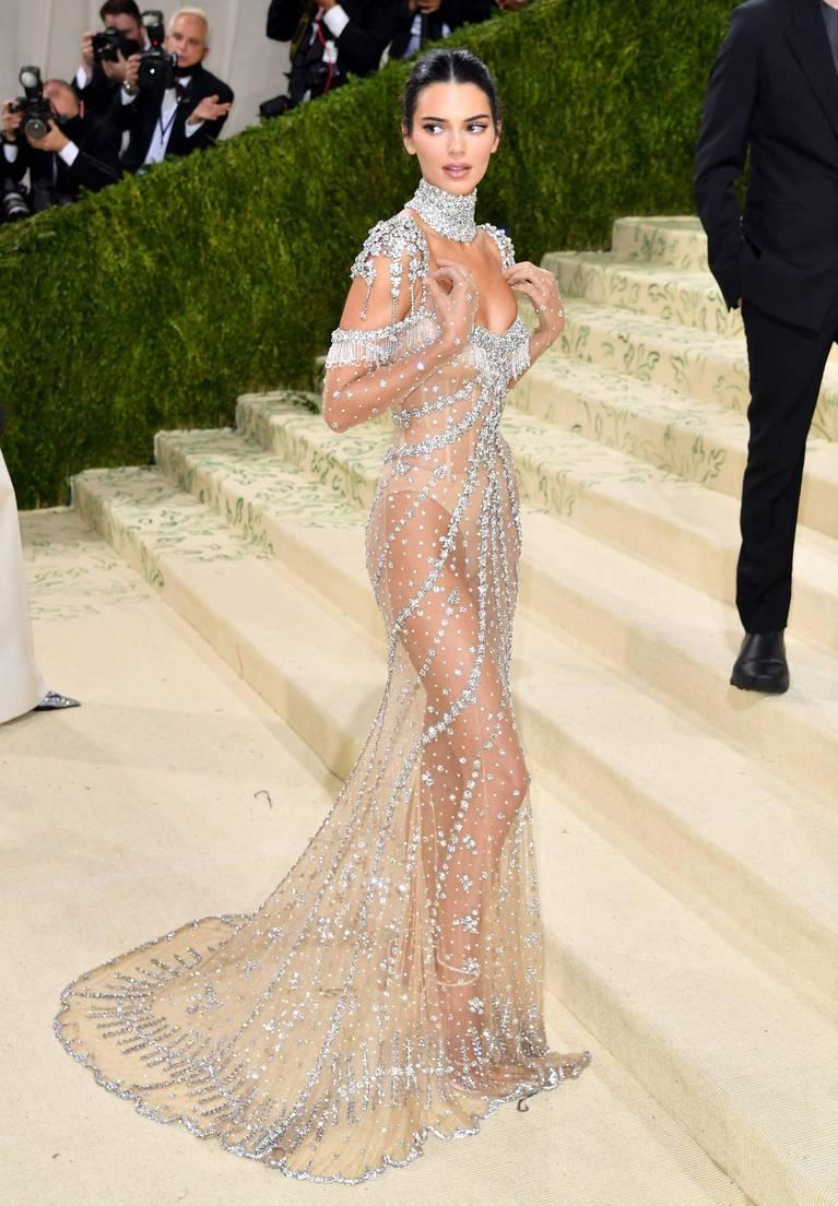 Kendall Jenner Naked Dress 37