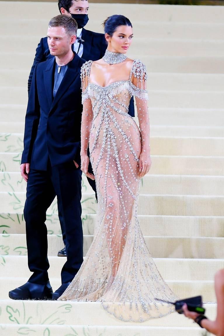 Kendall Jenner Naked Dress 51