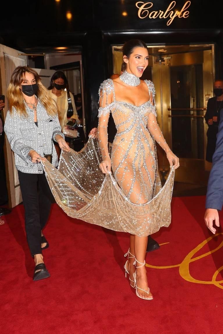 Kendall Jenner Naked Dress 58