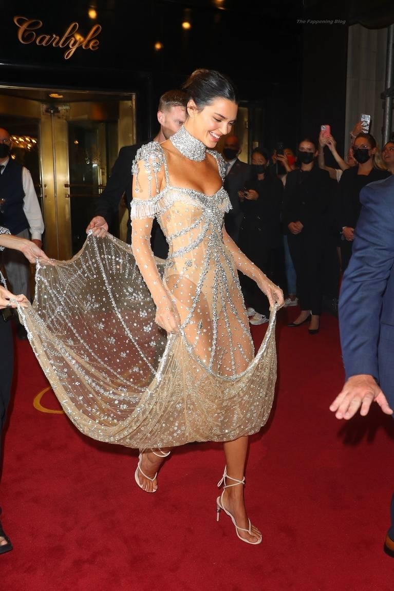 Kendall Jenner Naked Dress 68