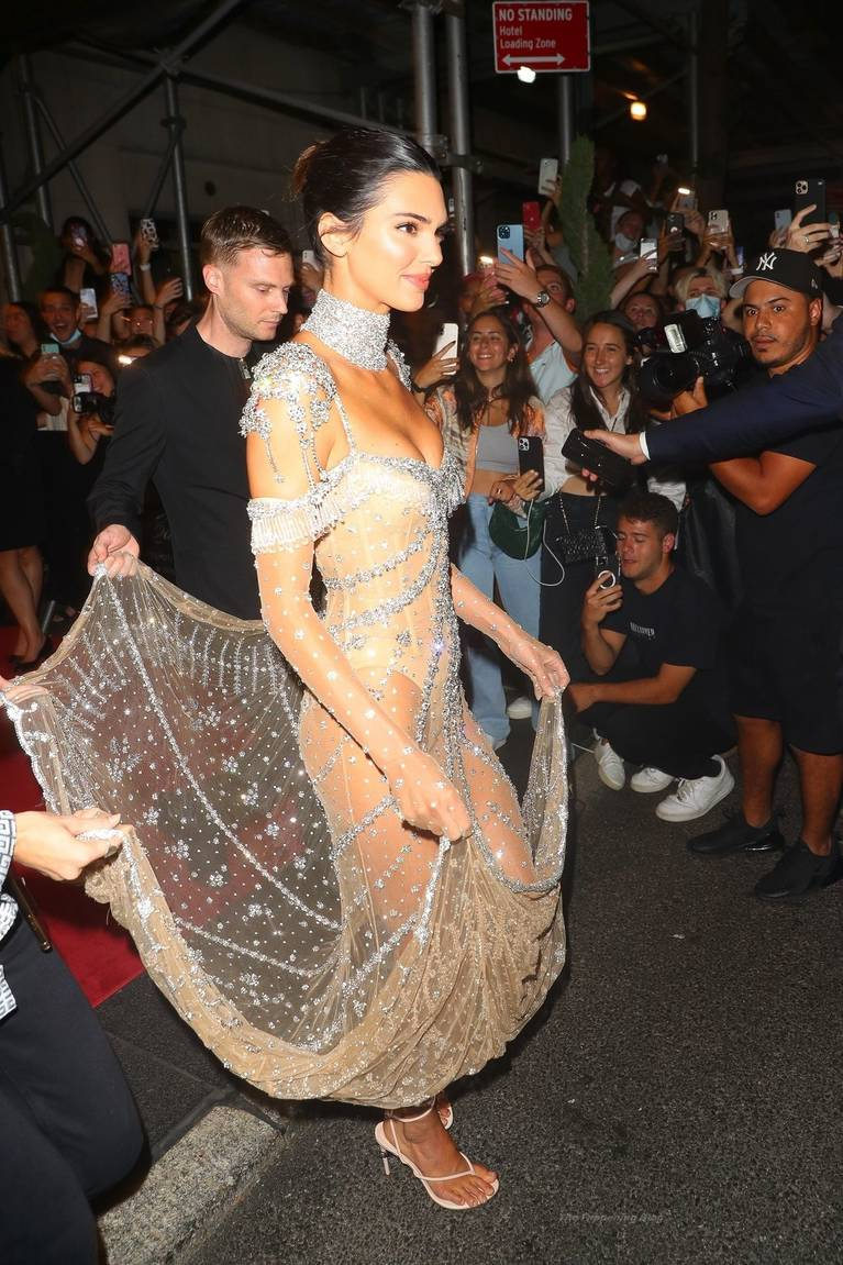 Kendall Jenner Naked Dress 73