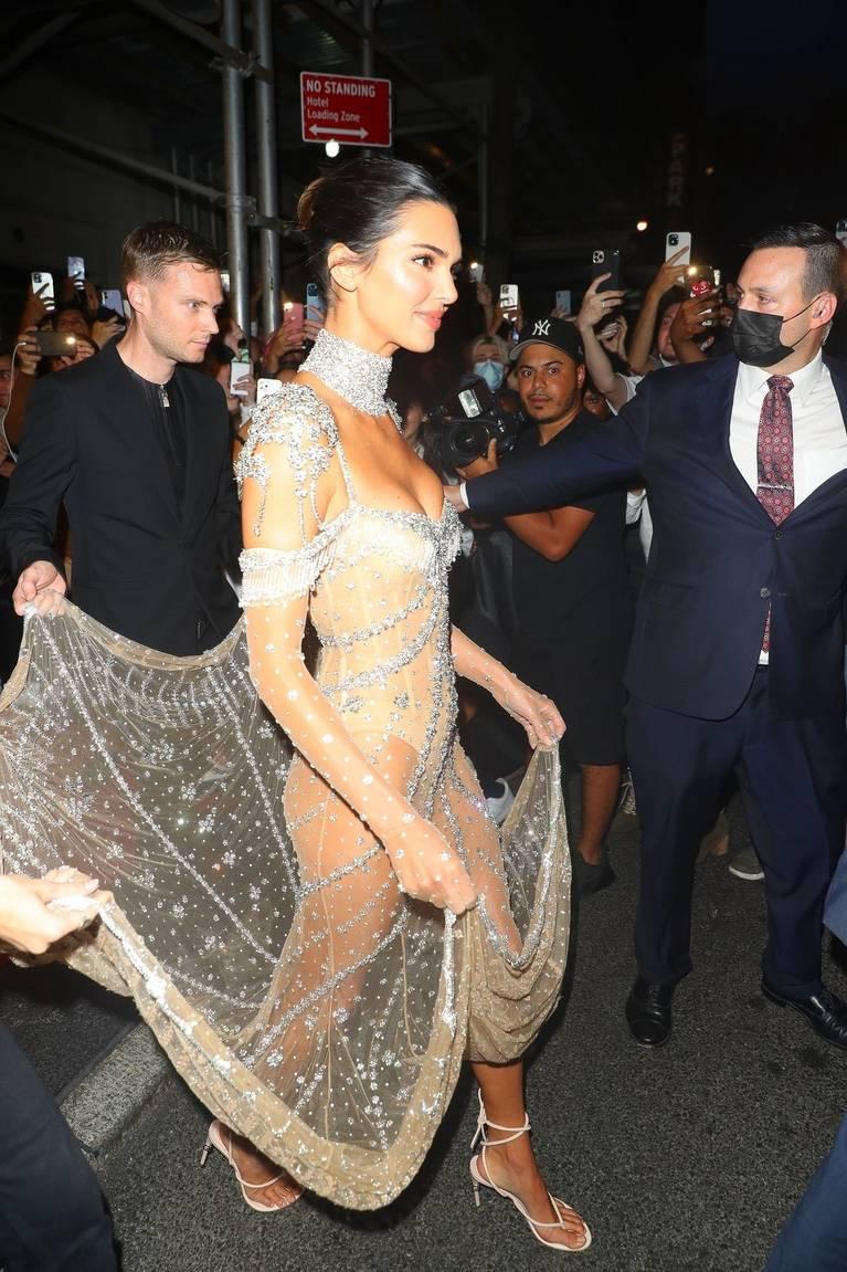 Kendall Jenner Naked Dress 75