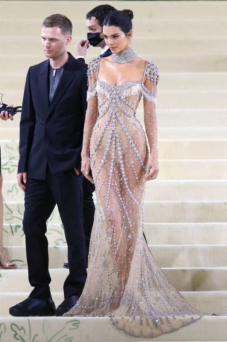 Kendall Jenner Naked Dress 87