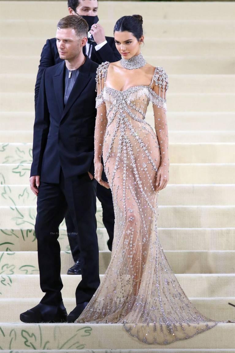 Kendall Jenner Naked Dress 88