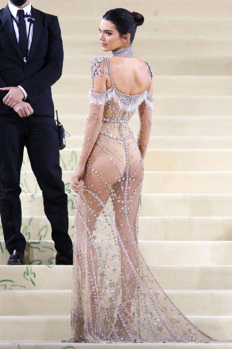 Kendall Jenner Naked Dress 91