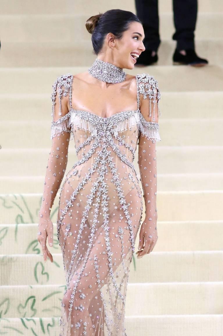 Kendall Jenner Naked Dress 92