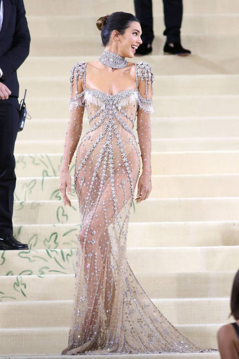Kendall Jenner Naked Dress 93