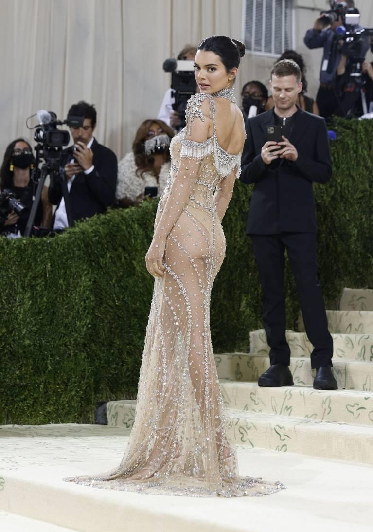 Kendall Jenner Naked Dress 96
