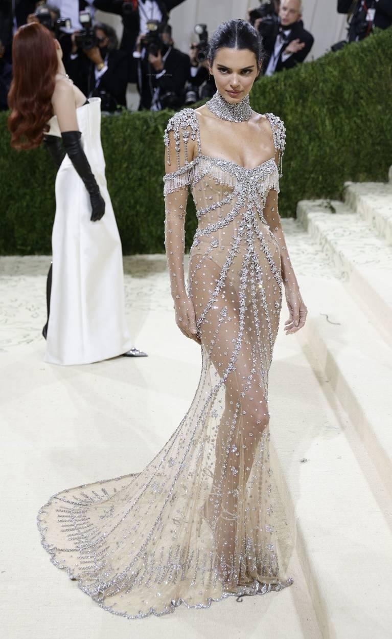 Kendall Jenner Naked Dress 97