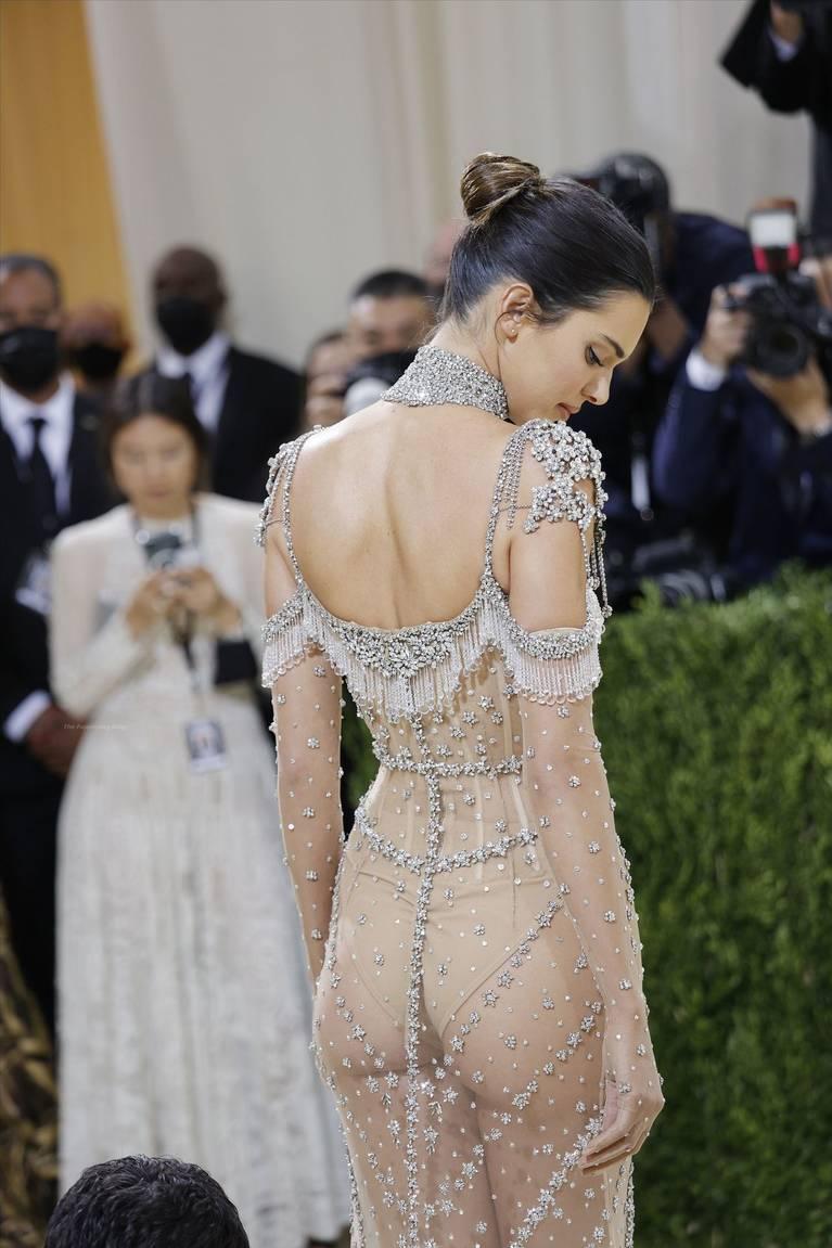 Kendall Jenner Naked Dress 99