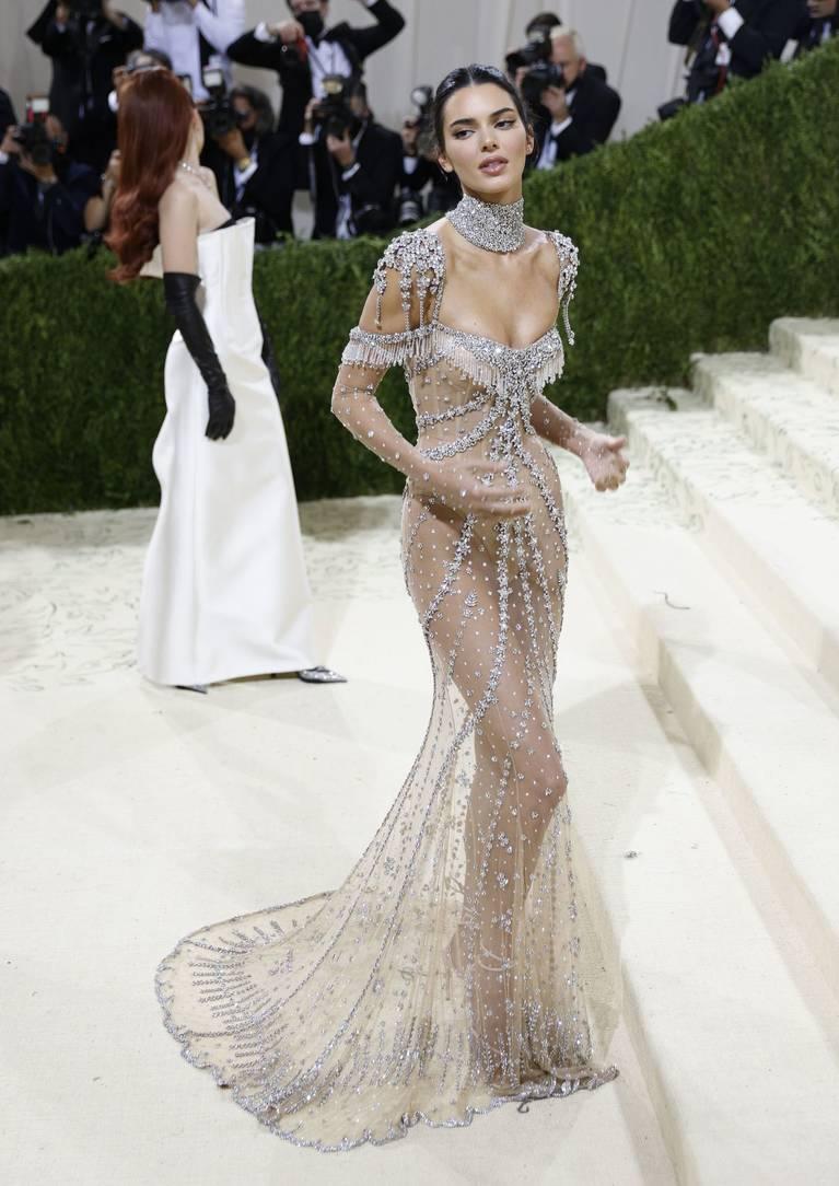 Kendall Jenner Naked Dress 100