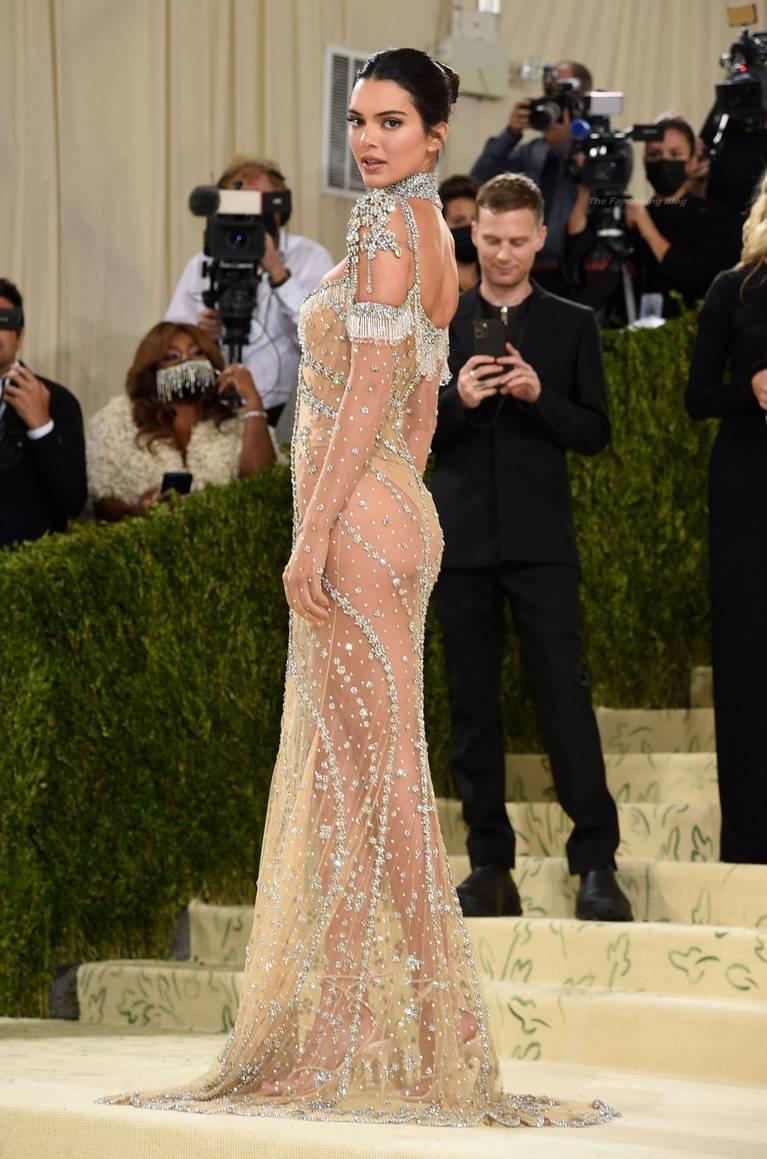 Kendall Jenner Naked Dress 110