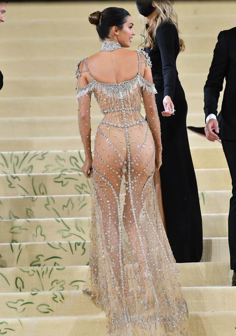 Kendall Jenner Naked Dress 122