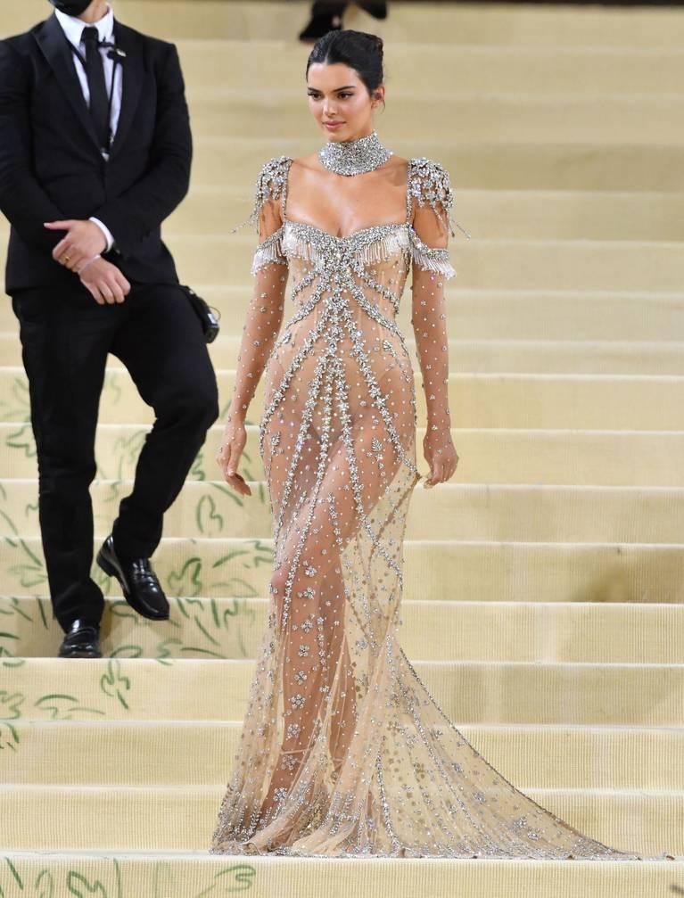 Kendall Jenner Naked Dress 124