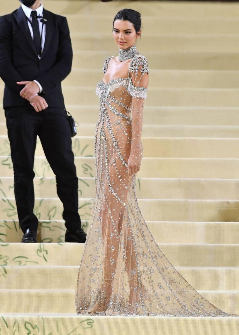 Kendall Jenner Naked Dress 125