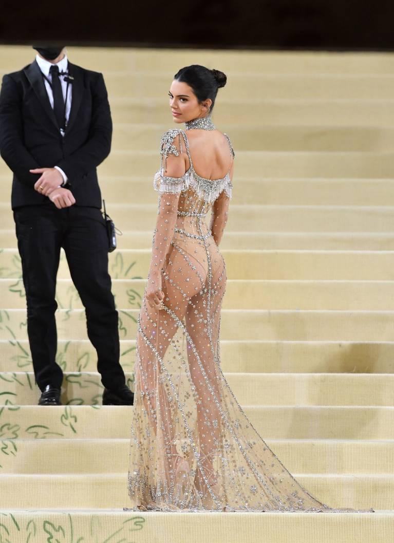 Kendall Jenner Naked Dress 127