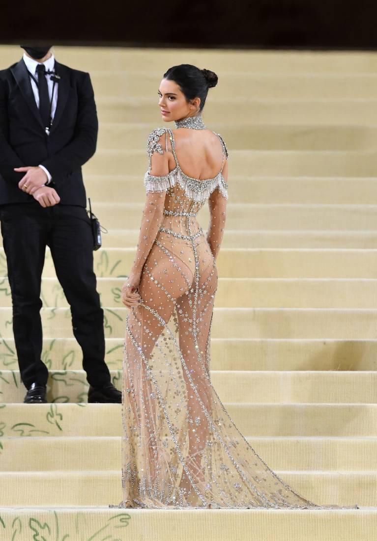 Kendall Jenner Naked Dress 128
