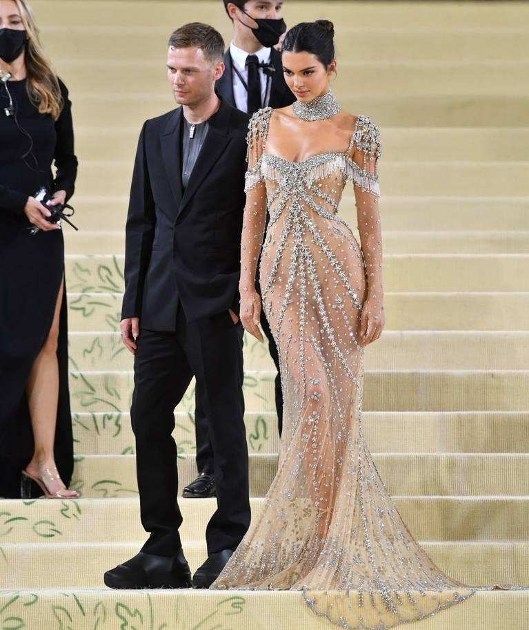 Kendall Jenner Naked Dress 130