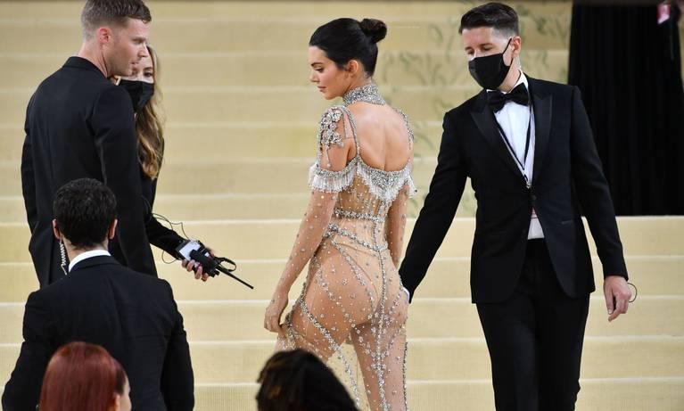 Kendall Jenner Naked Dress 133