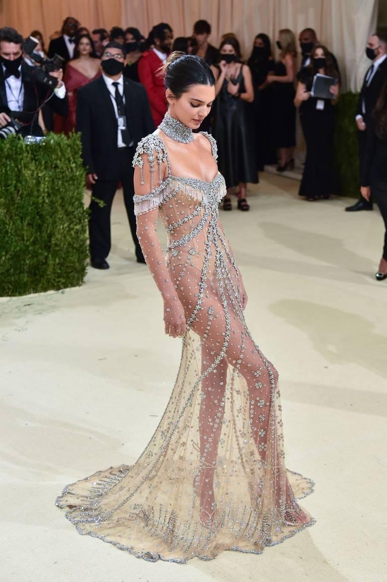 Kendall Jenner Naked Dress 136