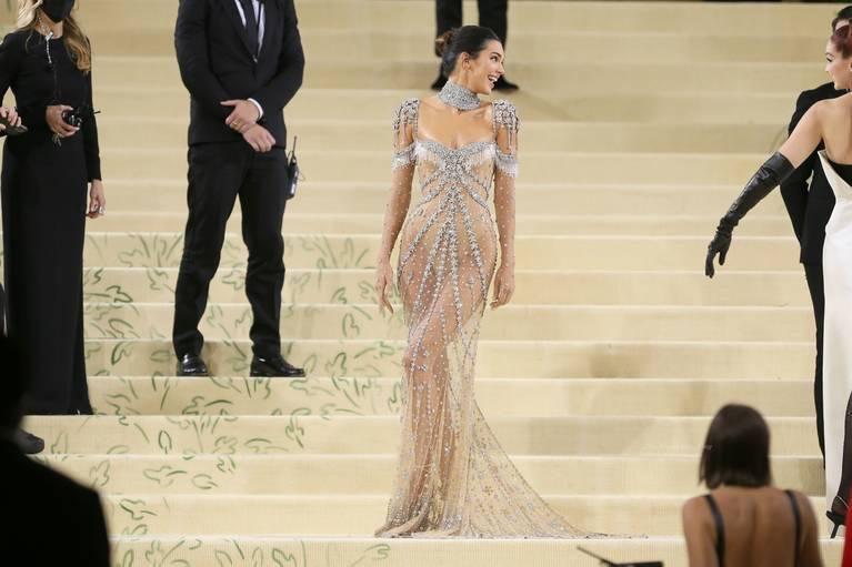 Kendall Jenner Naked Dress 7