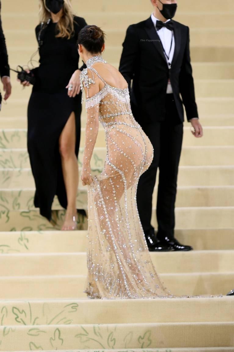 Kendall Jenner Naked Dress 10