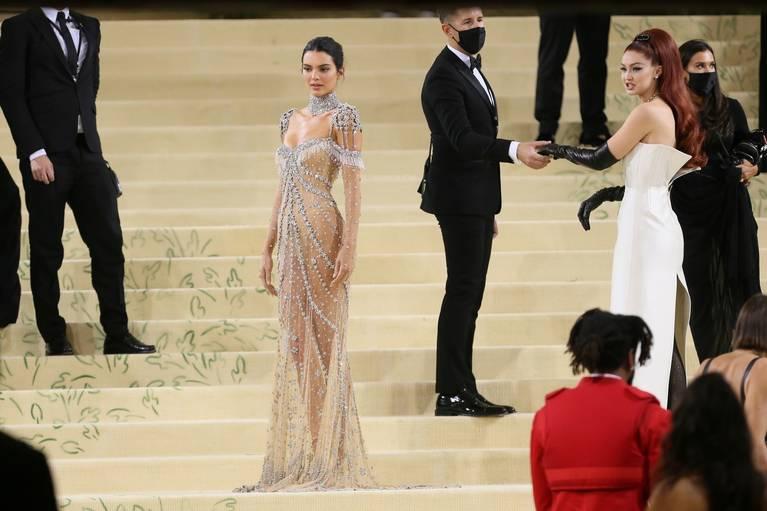 Kendall Jenner Naked Dress 11