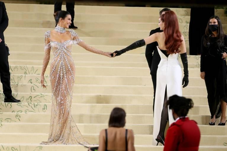 Kendall Jenner Naked Dress 12