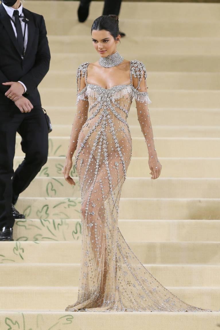 Kendall Jenner Naked Dress 13
