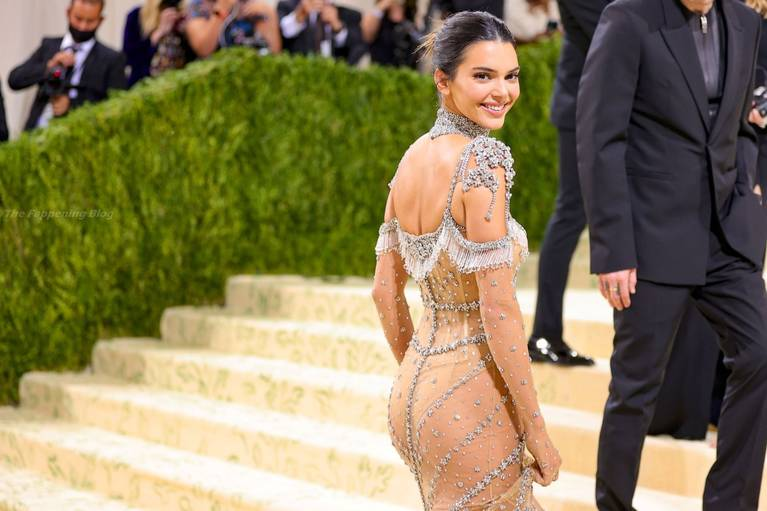 Kendall Jenner Naked Dress 16