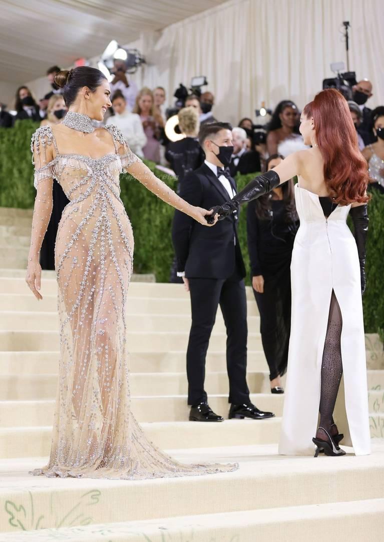 Kendall Jenner Naked Dress 22