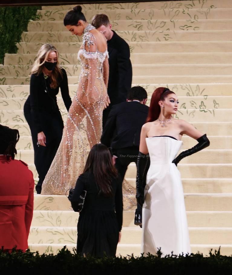 Kendall Jenner Naked Dress 63