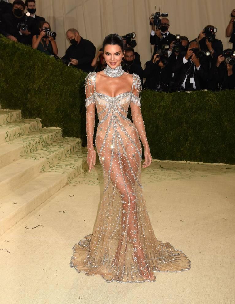 Kendall Jenner Naked Dress 77