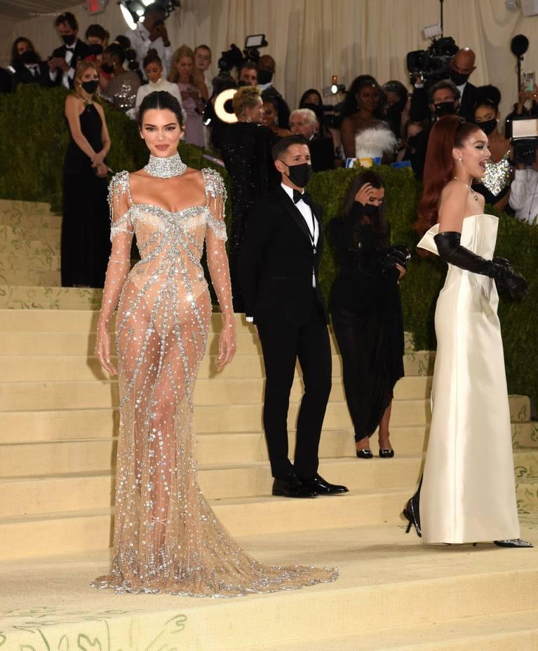 Kendall Jenner Naked Dress 82