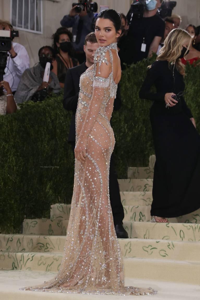 Kendall Jenner Naked Dress 85