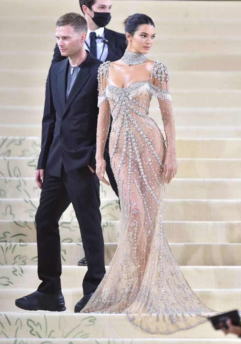 Kendall Jenner Naked Dress 103