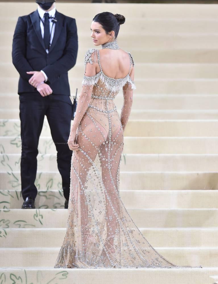 Kendall Jenner Naked Dress 104