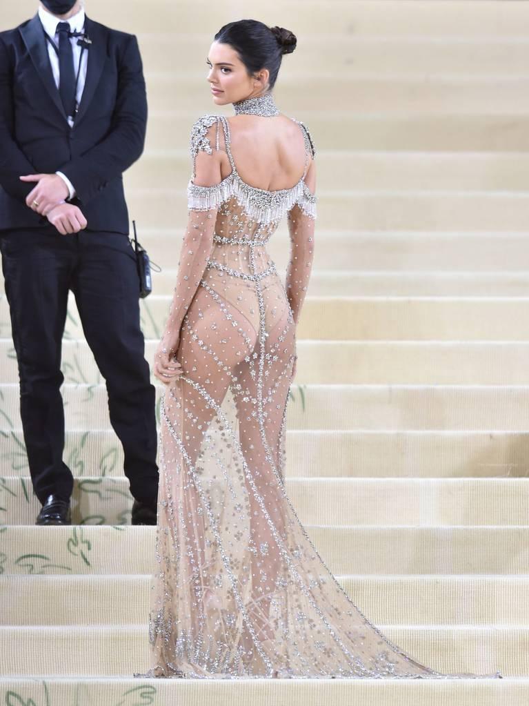 Kendall Jenner Naked Dress 105