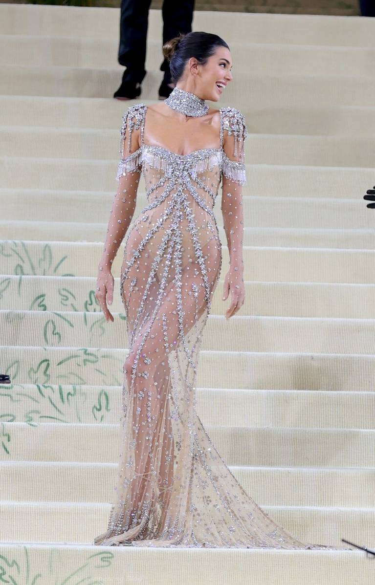 Kendall Jenner Naked Dress 112
