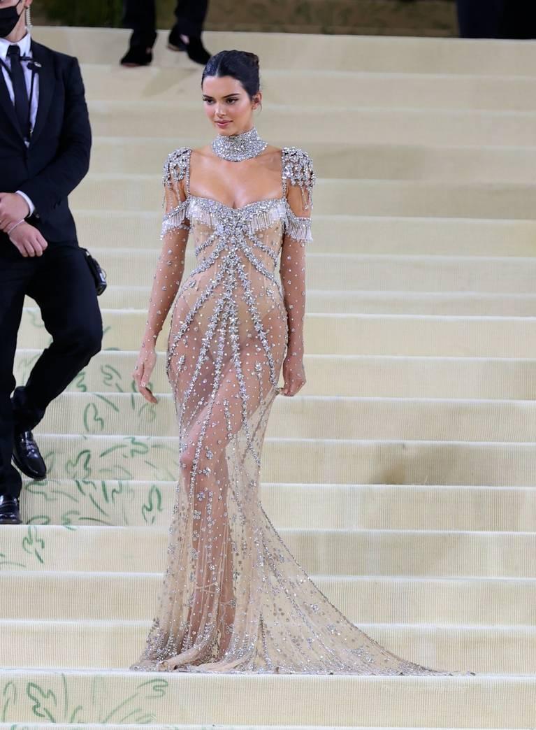 Kendall Jenner Naked Dress 113