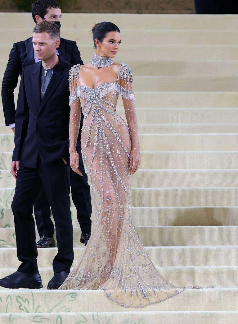 Kendall Jenner Naked Dress 119