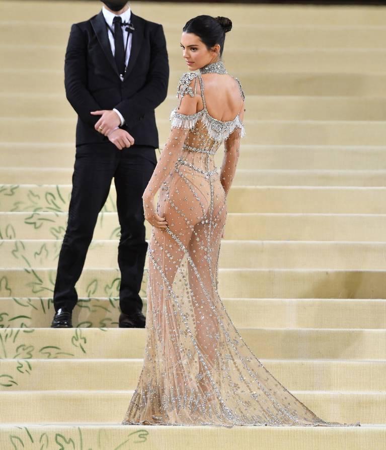 Kendall Jenner Naked Dress 123