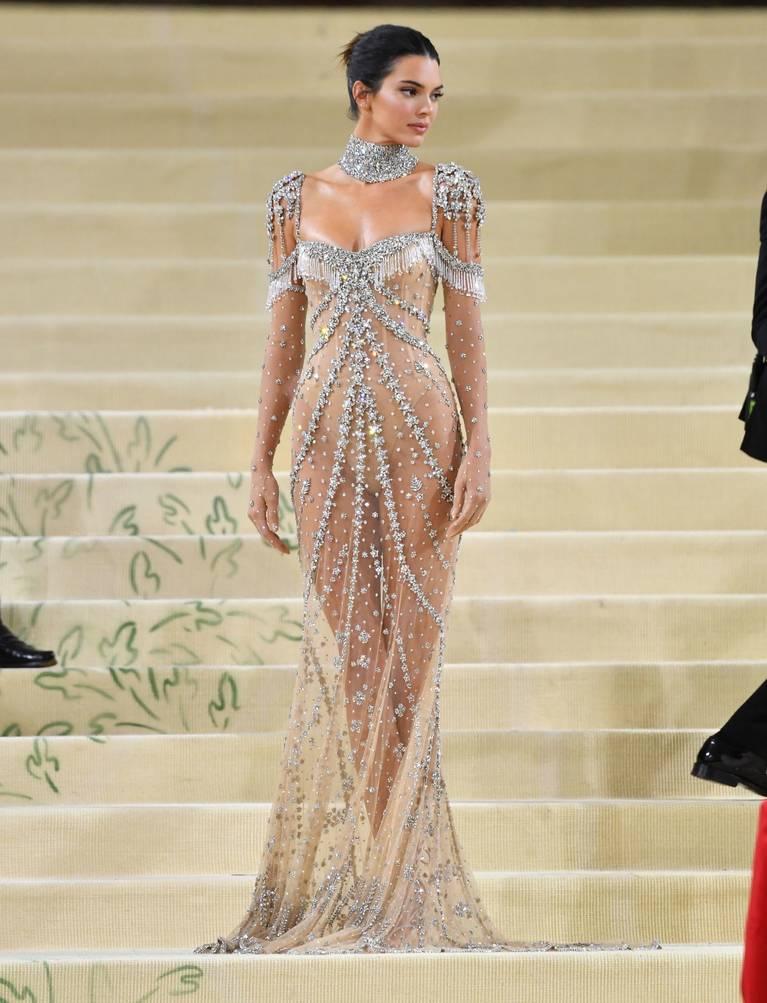 Kendall Jenner Naked Dress 126