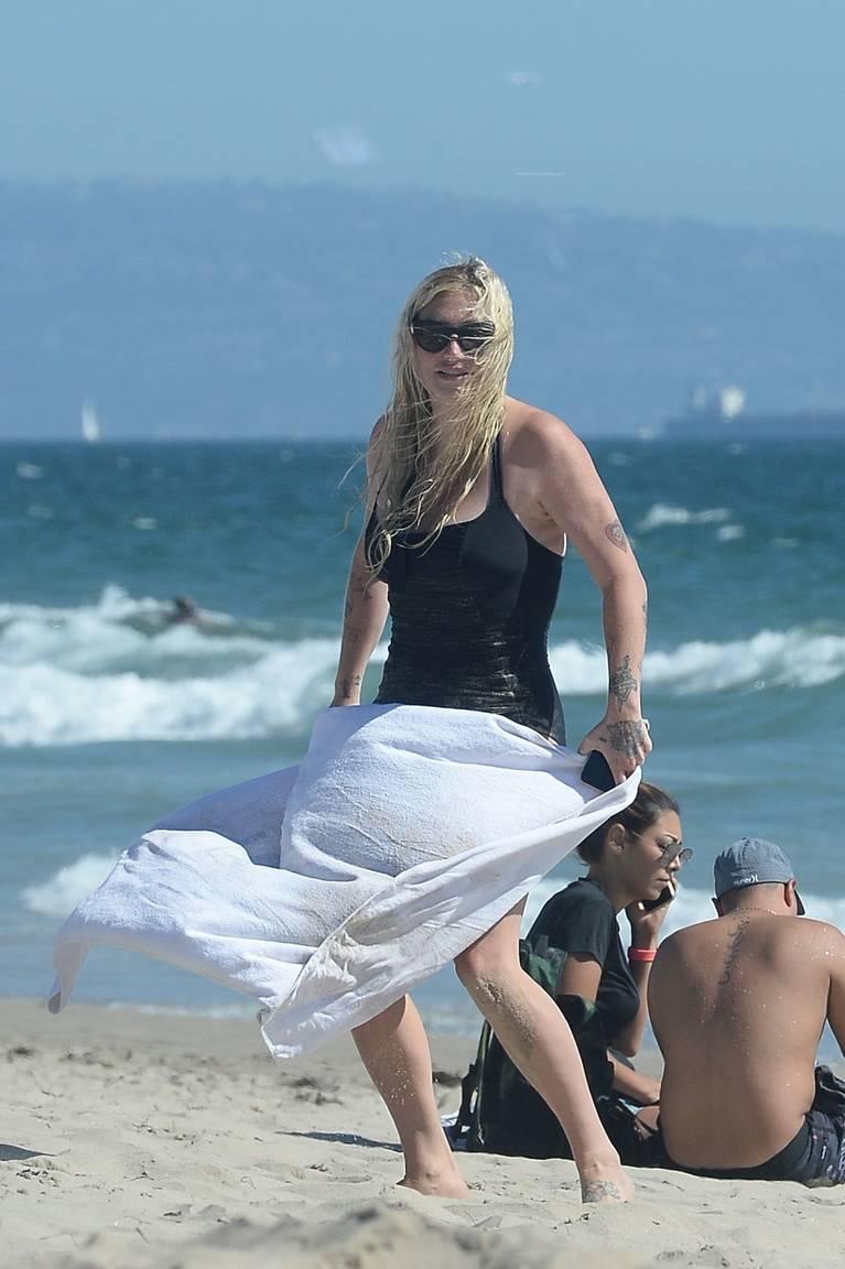 Kesha on Beach 43