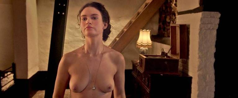 Lily James Nude Sexy 4