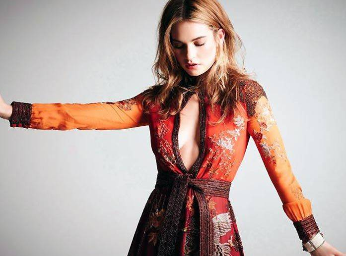 Lily James Nude Sexy 52