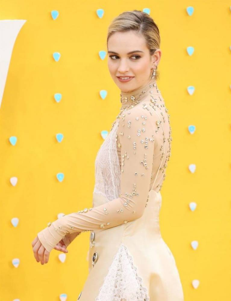 Lily James Nude Sexy 103