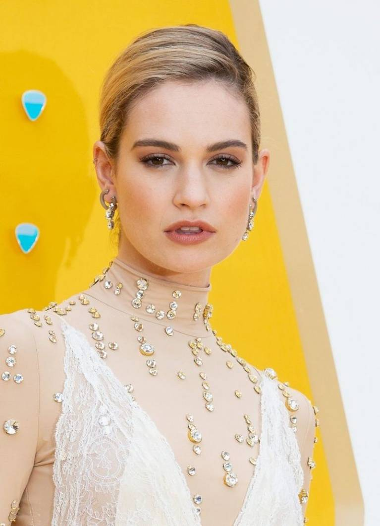 Lily James Nude Sexy 110