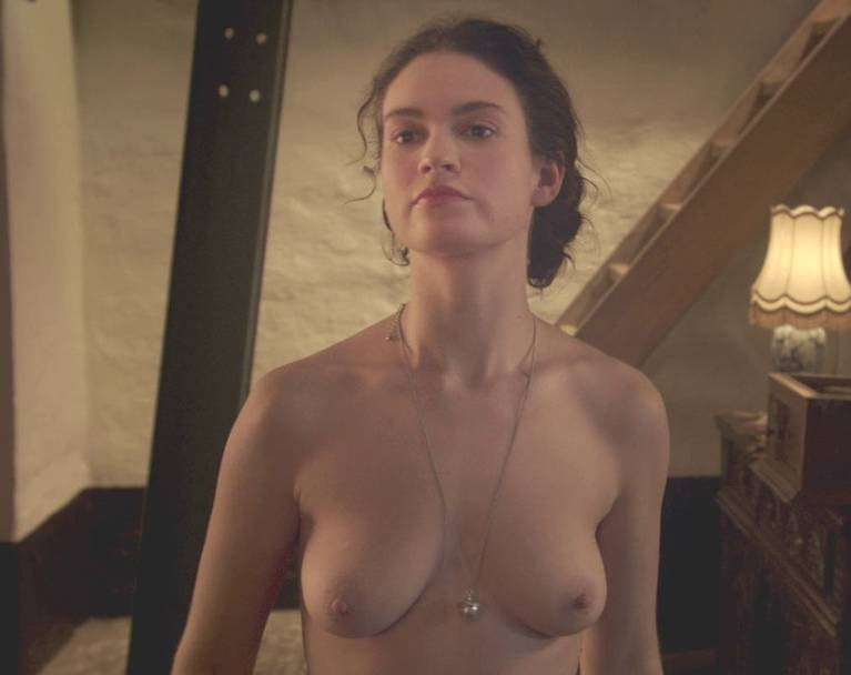Lily James Nude Sexy 119